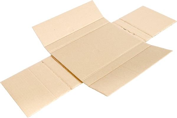 Emballage en croix en 2 plaques (fond doublé)